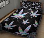 Cannabis Mandala Quilt Set
