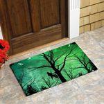 Bigfoot In The Forest Doormat