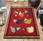 Chicken Pattern Rug