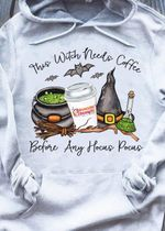 Witch Coffee Hoodie This Witch Needs Coffee Before Any Hocus Pocus PAN2HD0001