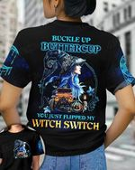 Witch Jeep Tshirt Buckle Up Buttercup You Just Flipped My Witch Switch