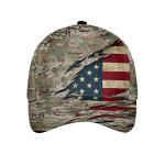 Camo Soldier Pattern Cap