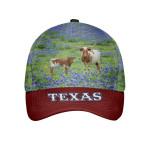 Texas Longhorn Flower Cap