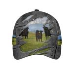Blue Sky Cow Farm Classic Cap
