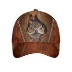 Owl Wooden Cap