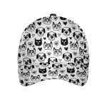 Seamless Pattern With Cute Animals Classic Cap