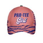 Par Tee Girl Abstract Leopard Seamless Pattern Custom Cap