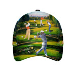 Golf Life Art Cap