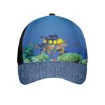 Beach Sea Turtle Blue Ocean Cap