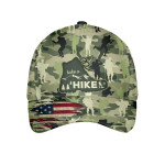 Custom Graphic With Hiking Pattern Cap