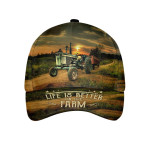 Life Is Better On The Farm Cap