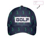 Custom Hot Golf Pattern Cap
