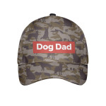 Dog Dad German Shepherd Camouflage Cap