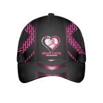 No One Fights Alone Breast Cancer Cap Cap