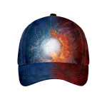 Golf Lover With Flame And Thunder Cap