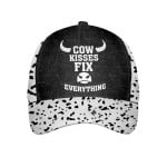Cow Kisses Fix Everything Cap