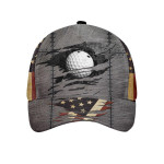 American Golfer Golf Ball Beaks Wall Cap