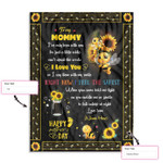 Personalized Gift From Little Baby To Mommy Happy Mother'S Day Cute Little Bee Ez12 0303 Custom Fleece Blanket