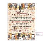 Personalized Gift From Little Baby To Mommy Happy Mother'S Day Cute Cartoon Cat 2 Ez12 0303 Custom Fleece Blanket
