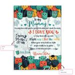 Personalized Gift From Little Baby To Mommy Happy Mother'S Day Cute Doodle Monster Ez12 2302 Custom Fleece Blanket