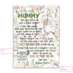 Personalized Gift From Little Baby To Mommy Happy Mother'S Day Cute Little Alpaca 2 Ez12 2602 Custom Fleece Blanket