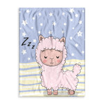 Cute Alpaca Ez16 0902 Fleece Blanket