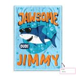 Personalized Cool Shark Ez20 0802 Custom Fleece Blanket