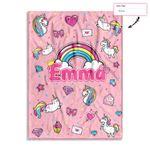Personalized Cute Graffiti Unicorn Ez20 0402 Custom Fleece Blanket