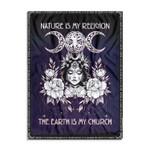 Wicca Nature Is My Religion Ez20 0202 Fleece Blanket