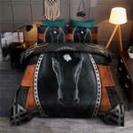 Black Horse Bedding Set