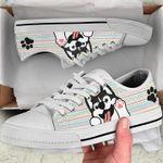 Husky Cute Low Top Shoes