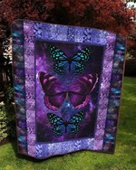 Butterfly Purple Quilt