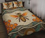 Bee Mandala Quilt Set
