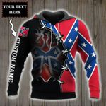 Personalized New York  State American 3D Hoodie