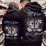 Skull Couple 3D Hoodie From Our First Kiss