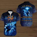 Jesus Lion Shirts My Savior Way Maker Miracle Worker