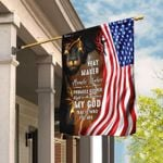 American Lion God Flag Way Maker Miracle Worker My God That Is Who You Are PANFLAG0002