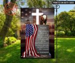 9.11 Eagle American Garden Flag Time Changes The Heart