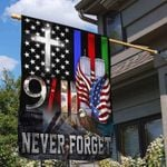 9.11 House Flag Never Forget