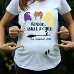 Personalized Winnie I Smell A Child Hocus Pocus Pregnans Tshirt