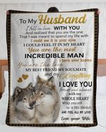Gift For Husband From Wife Wolf Blanket I Fell In Love With You