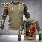 Personalized Veteran 3D Hoodie