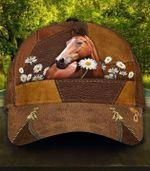 Horse Flower Full Printing Cap