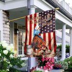 Horse American Flag 3 Barrels 2 Hearts 1 Dream