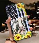 Sunflower With Painting Cow Phone Case