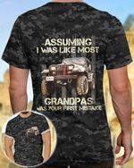 Jeep Tshirt Assuming I Was Like Most Grandpas