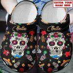 Personalized Sugar Skull Crocs Shoes PANCR0022