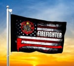 Firefighter American Flag