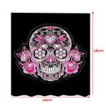 Pink Sugar Skull Shower Curtain