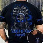 Skull Tshirt Zero Fucks Given